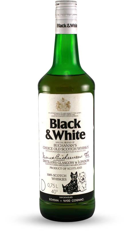 Black & White Scotch Whisky – Whiskey – Spirits ...