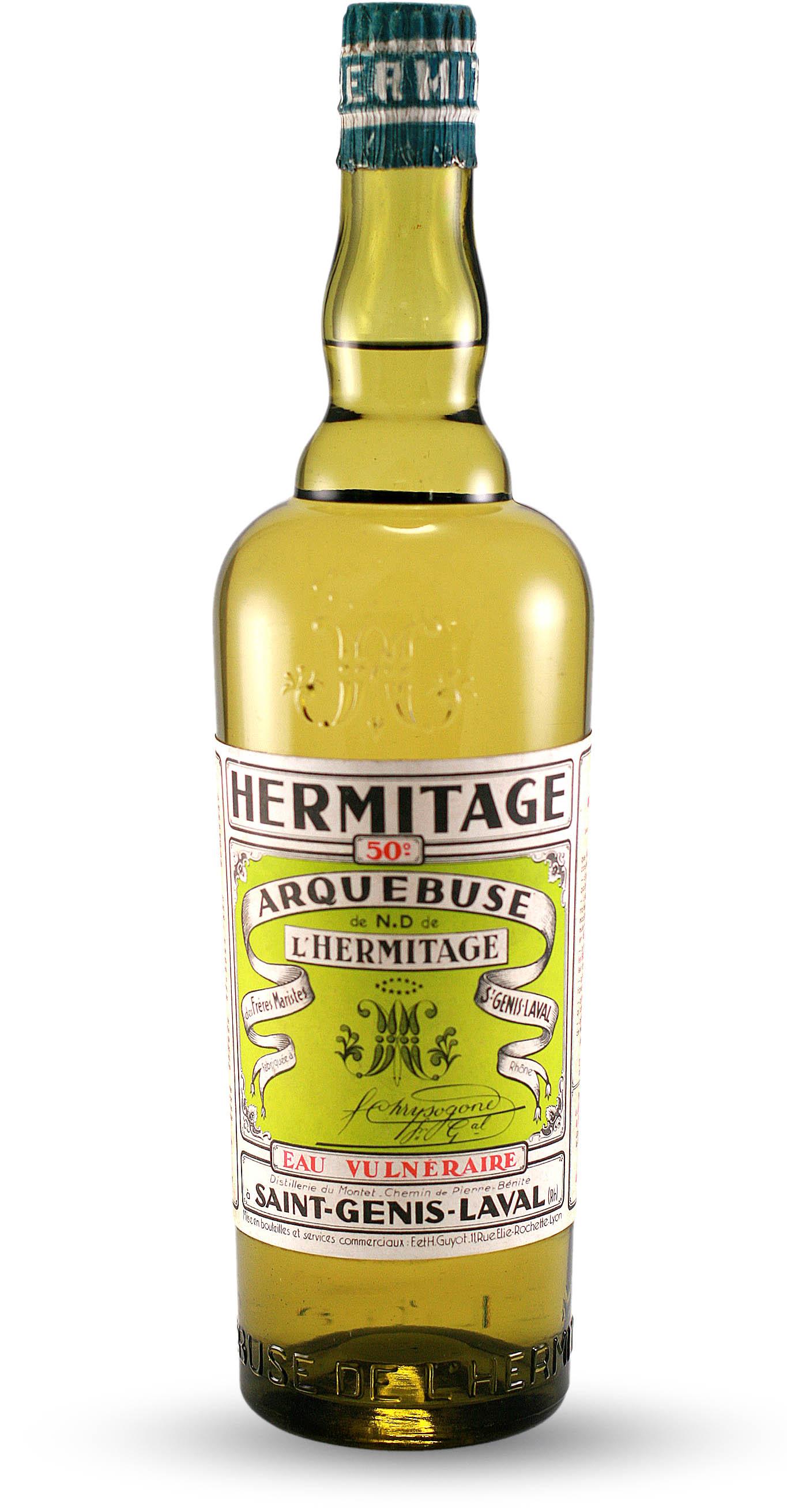Arquebuse de n d de l hermitage eau vulnerable liqueur